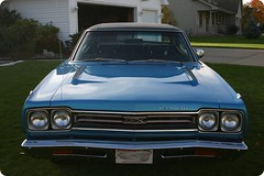 1969 Plymouth GTX 440  Front Photo (Button-Block) Tags: hardtop automatic mopar 440 1969plymouthgtx numbersmatching johns1969gtx