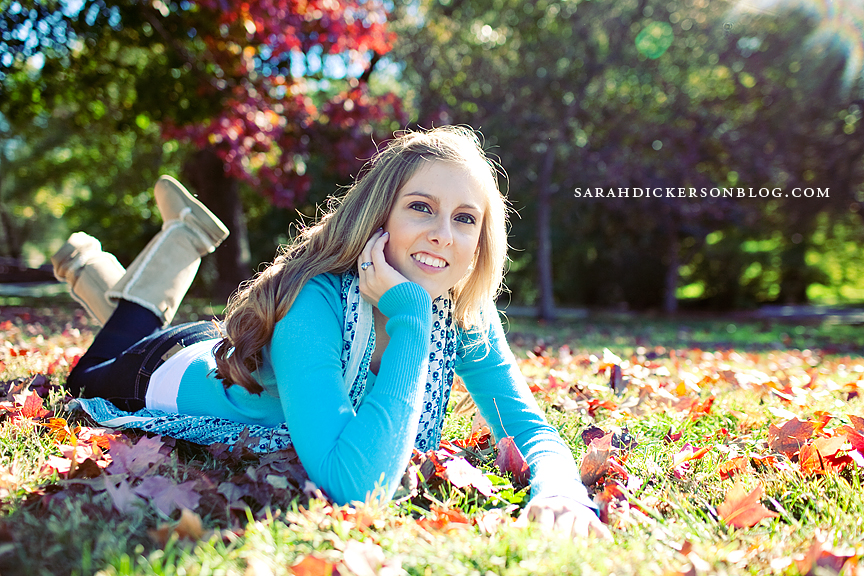 Country Club Plaza and Loose Park senior photography