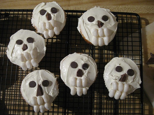 Day of the Dead, All Saint's Day cupcakes