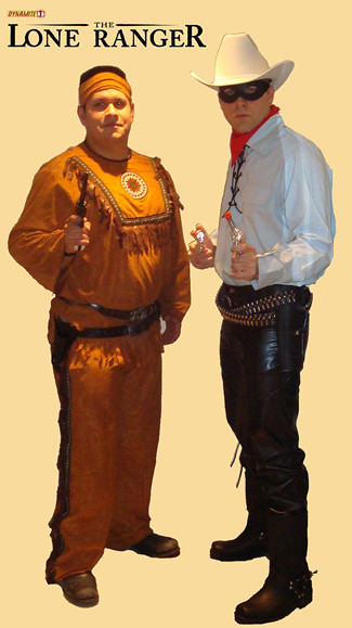 Lone Ranger and Tonto Costumes