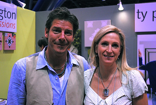 Quilt Market Fall 2010 (with Ty Pennington).  Nice!  :)