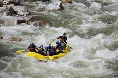 Rapid on the Paro Chhu (Northwest Rafting Company) Tags: travel tour bhutan rafting kayaking