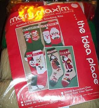 Old Time Santa Stockings