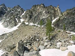 Lower moraine