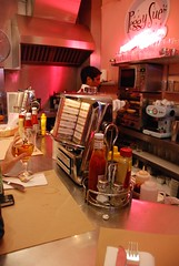 Peggy Sue's American Diner in Madrid