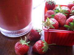 strawberry-fennel gazpacho