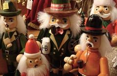 munich christmas market (carrie227) Tags: christmas travel germany munich market crafts pipes beards christmasmarket munchen woodentoys ruchermnnchen outdoormarket pointandclick pointandclickcamera smokingmen barbash