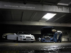 Undeground shot - Toyota Celica GT-four (GT4) & Fiat Coupe 20V Turbo