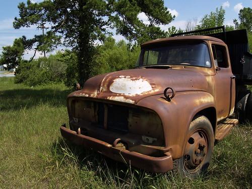 1956 Ford dump truck