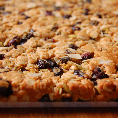cooked muesli bars
