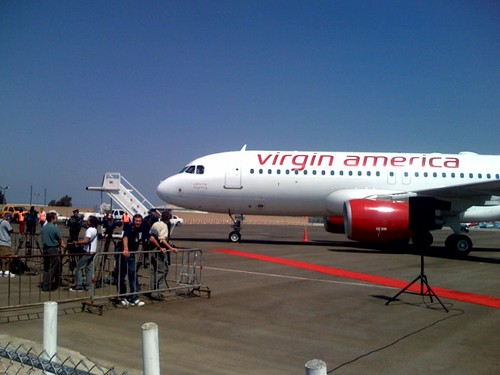 Virgin launch in LA