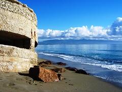 Cagliari (CarloAlessioCozzolino) Tags: sardegna sea sky cloud beach waiting sardinia breathtaking cagliari attesa poetto naturalmente photoexplore