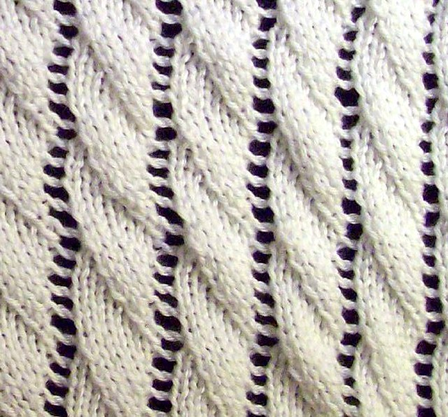 Ravelry Overlapping Waves Pattern By Sterling Publishing