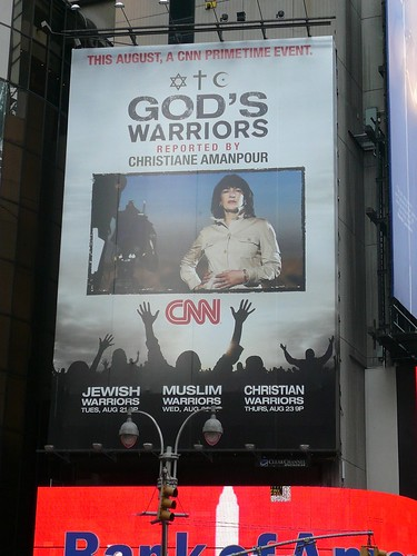 Christiane Amanpour and her worshippers