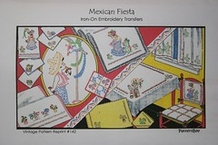 Mexican Fiesta from patternbee, I think a vogart reprint