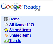 Google Reader Count