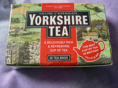 Yorkshire Tea: In the goodie bag after a 10k Run