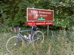 riding along le seine to foret de senart