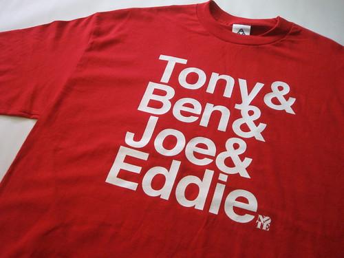 Tony&Ben&Joe&Eddie T shirt