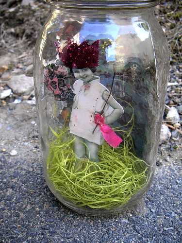 Tabitha Meadows! A Captured Jar Fairy!