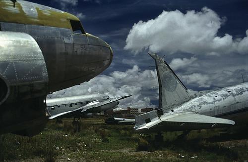 Corrosion Corner of La Paz Int'l Airport