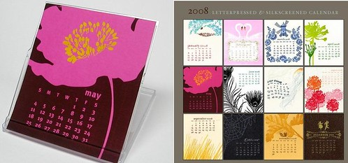 ilee's new calendar on etsy