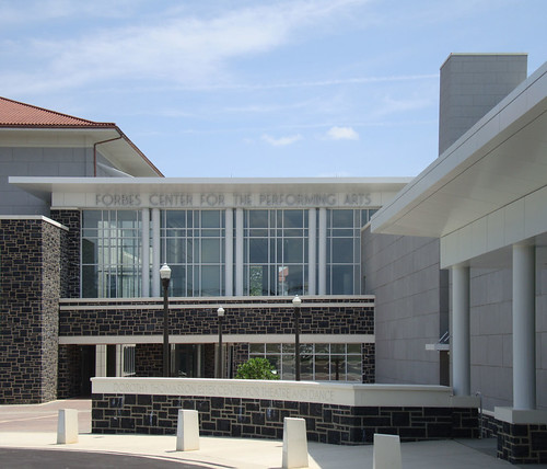 Forbes Center Rear Entrance
