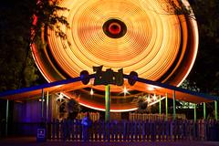 zulu (flee the cities) Tags: longexposure motion night lights kansascity missouri enterprise streaks themepark zulu thrillride worldsoffun huss spinningride cedarfair queuehouse