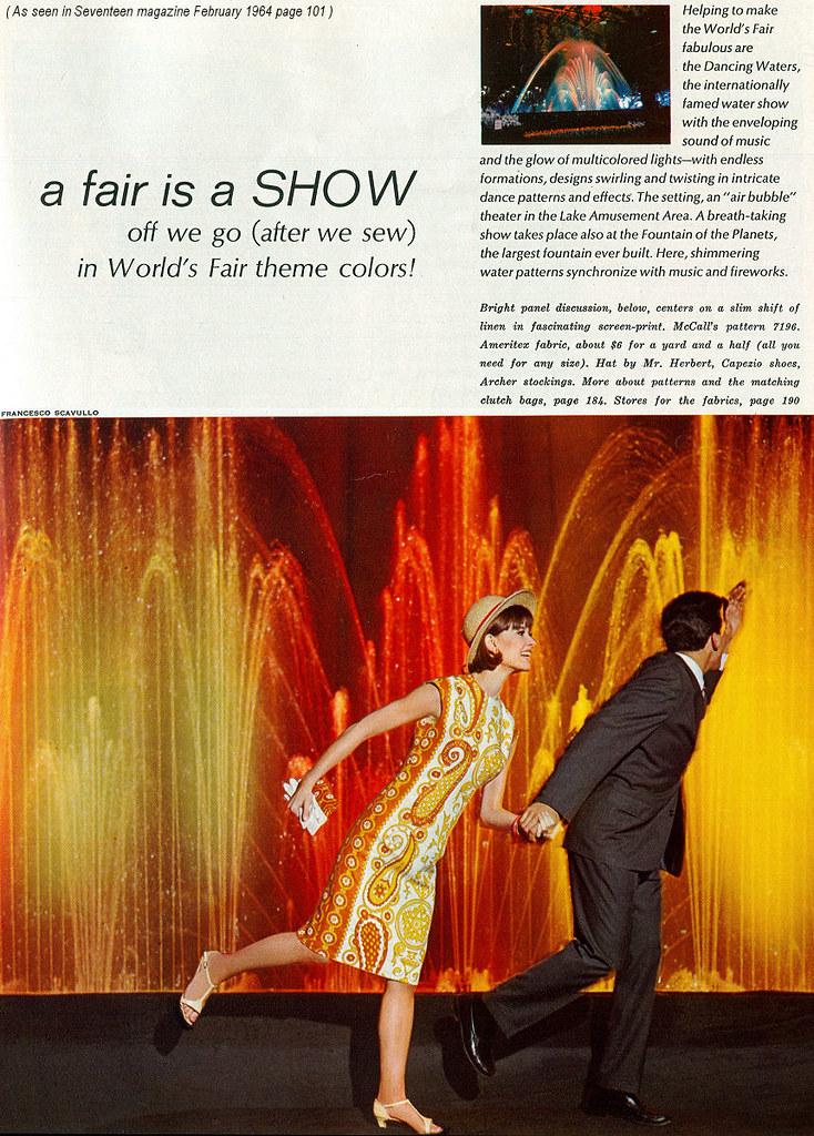 1964 Worlds Fair Fashions 1
