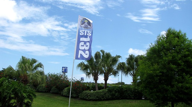 STS132 flag