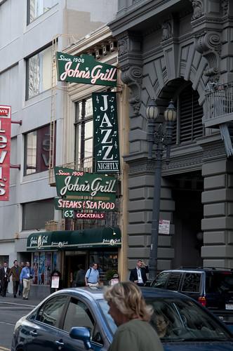 John's Grill, San Francisco