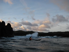 Tidal race out of Hlmasund (Jan Egil Kristiansen) Tags: seascape kayak kayaking faroeislands hoyvk sooc tidalrace hlmasund img1413 hoyvkshlmur plldanielsen wpdc22 ilovethesmellofsurfinthemorning