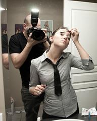 Haley-Bales (AdamNF) Tags: camera ontario canada adam london work canon bathroom makeup roommate haley