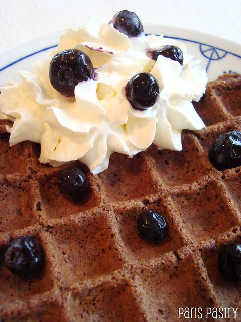 Chocolate Waffles