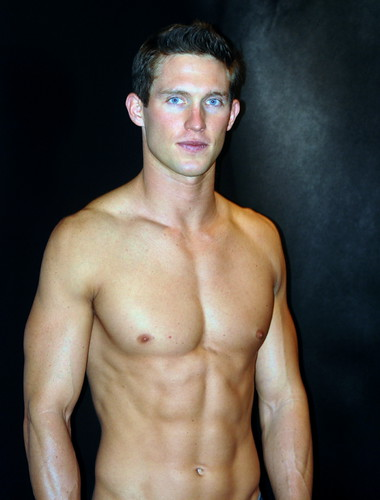 shirtless Abercrombie Greeter