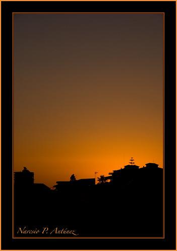 Fotografía: negra sombra