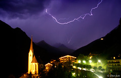 Lightning Does Strike Twice! (elliot23) Tags: storm alps rain weather night landscape austria europe lightning grosglockner heiligenblut top20longexposure mywinners abigfave ysplix amazingamateur tribesanhdya therebeastormabrewin