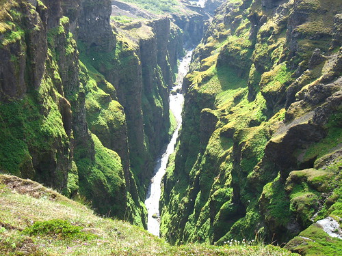 Glymur's cliffs