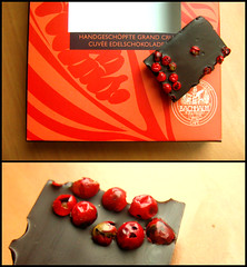 Red Hot Pepper Chocolate (sokole oko) Tags: red pepper diptych chocolate czerwony czekolada pieprz polassistance agap
