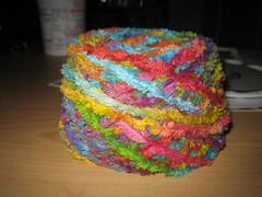 Mmmm...yarn cake
