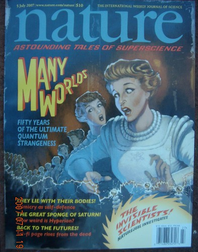 Nature, 5 July 2007 cover