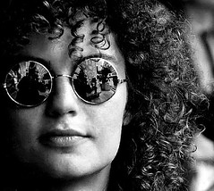 looking through the mirror glass (Amsterdamned!) Tags: lighting street light portrait people blackandwhite bw woman white selfportrait black reflection classic blancoynegro topf25 face sunglasses amsterdam self hair glasses interestingness interesting nikon bravo flickr emotion noiretblanc expression retrato autoretrato streetportrait curls bn portraiture soul ritratto topf500 firstquality streetportraiture f500 1500v60f flickrsbest blackwhitephotos 6000v240f abigfave 9000v360f vision1000 superaplus aplusphoto visiongroup superhearts portraitclassicshalloffame fpggold thatsclassy platinumheartaward world100f multimegashot multimegastar photoexel v20000 vision100 vision10000 v25000
