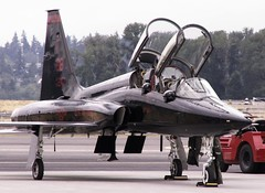 Bad to the bone... (vector1771 (Hangar71.com / Aviationintel.com)) Tags: jet talon usaf trainer bealeafb t38 northrop onlythebestare pdxaircraftplanejetflyingaviationairportskywings