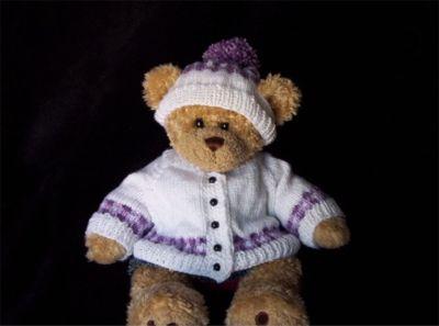 Teddy Bear Sweater Set
