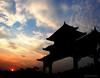 temple sky (jobarracuda) Tags: china sunset sky temple lumix bravo chinesetemple fz50 panasoniclumix dmcfz50 anawesomeshot aplusphoto huojie jobarracuda superhearts