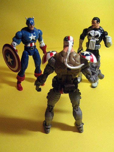 Super Patriot, Captain America and Punisher