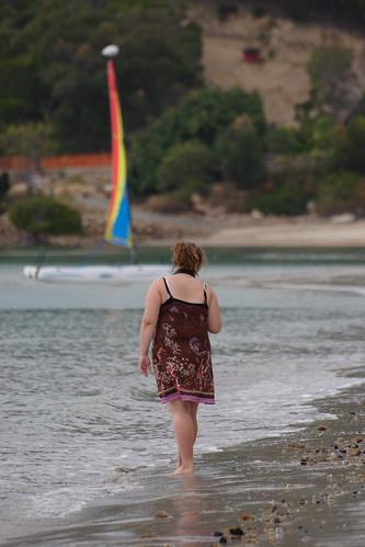beautiful cutestmidget enjoying the beach (hamilton island)