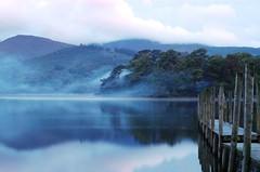 Derwentwater - Dawn Mist (davidneal) Tags: morning derwentwater theenglishlakedistrict2007