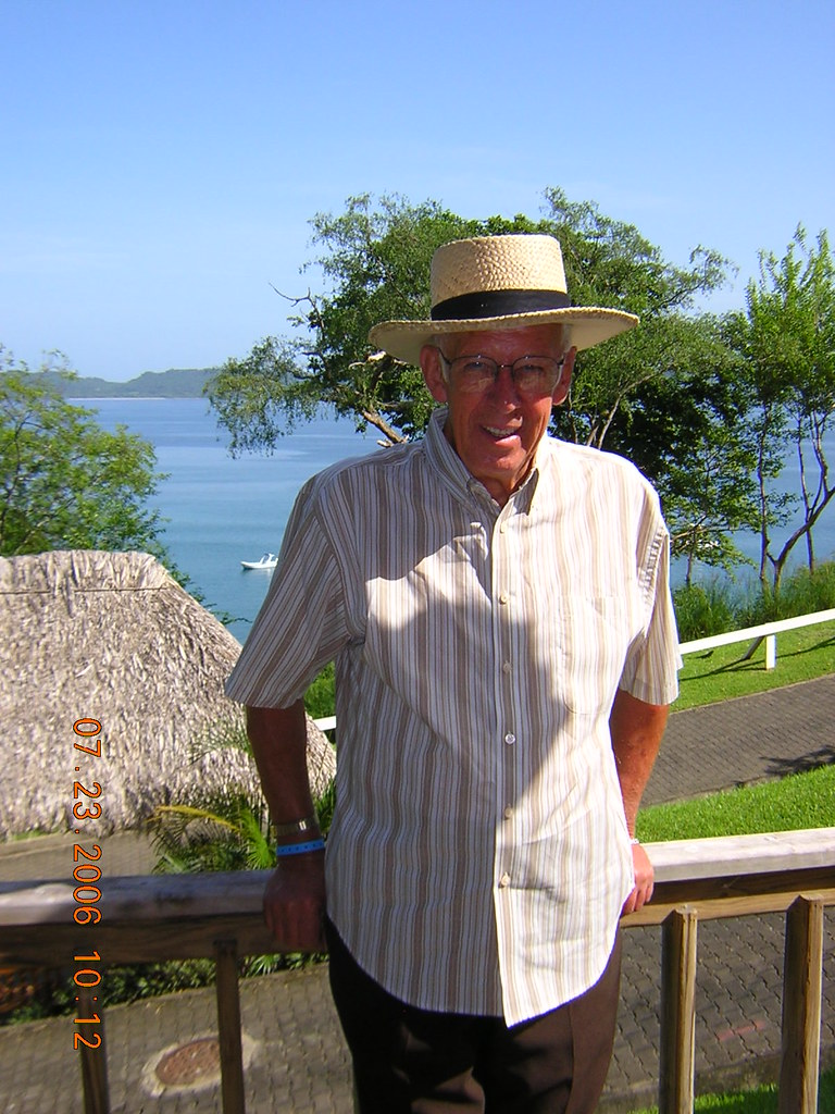 Dad in Costa Rica 1