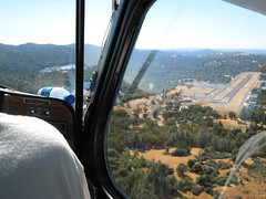 Approaching Pine Mountain Airport